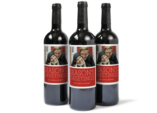 Image of Photo Wine Label