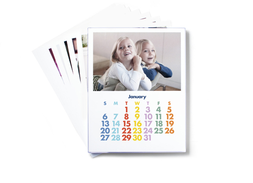 Image of Acrylic Framed Photo Calendar