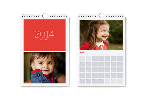 Image of Small Hanging Photo Calendar