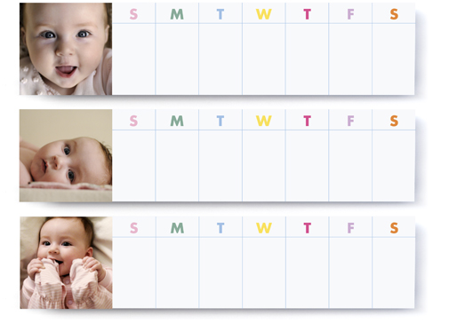 Image of Magnetic Weekly Notepad Trio