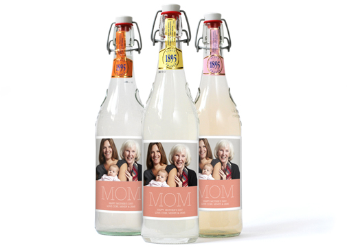Image of Photo Bottle Labels